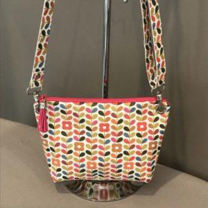 Petit sac avec bandoulière petites fleurs