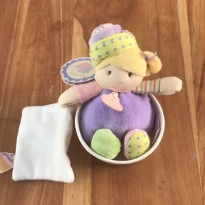 cup cake violet