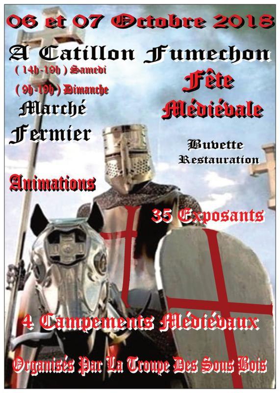 affiche médiéval catillon