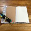 petit cahier coloriage jungle ouvert