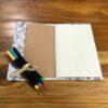 petit cahier coloriage princesse ouvert